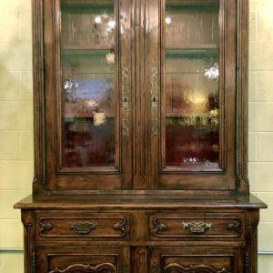 Anna's Mostly Mahogany Consignment - French Cabinet