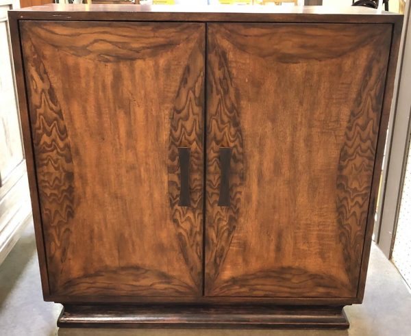 Walnut Two Door Cabinet