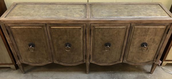 Champagne Console Cabinet