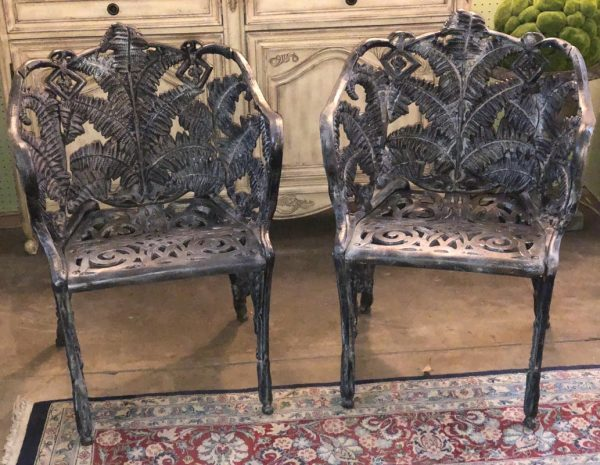 Iron Chairs