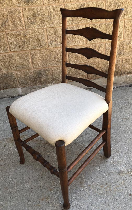 Anna's Mostly Mahogany Consignment - Set of Four Chairs