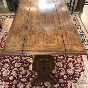 Anna's Mostly Mahogany Consignment - Spanish Hunt Table