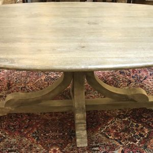Anna's Mostly Mahogany Consignment - Oval Dining Table