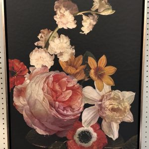 Anna's Mostly Mahogany Consignment - Floral Paintings