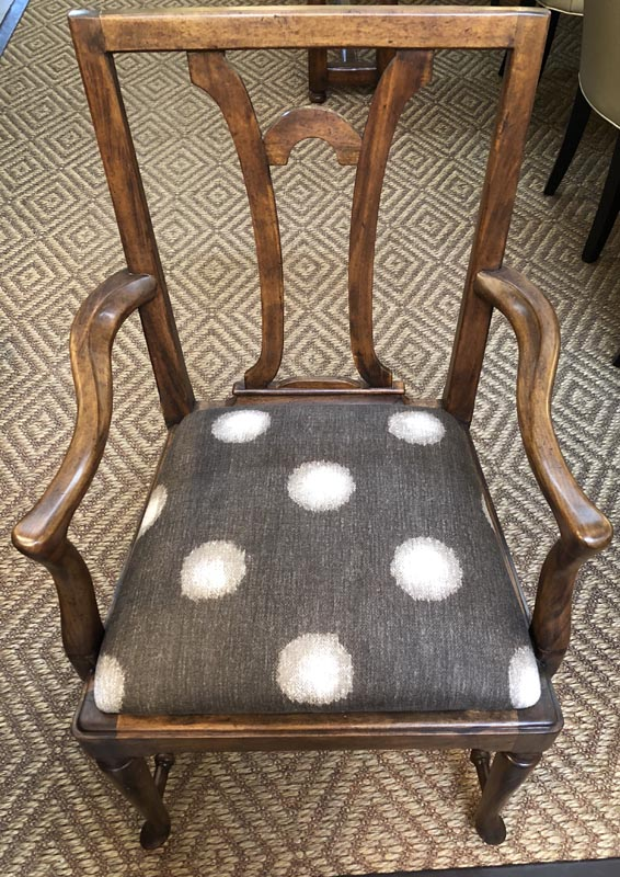 Anna's Mostly Mahogany Consignment - Queen Anne Armchairs