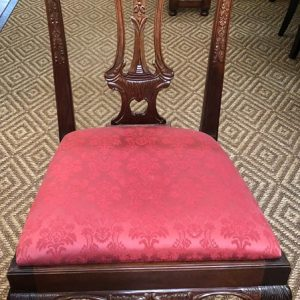 Anna's Mostly Mahogany Consignment - Set of Eight Chippendale Dining Chairs