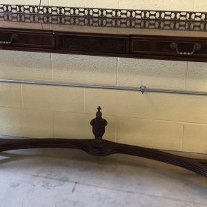 Anna's Mostly Mahogany Consignment - Regency Console Table