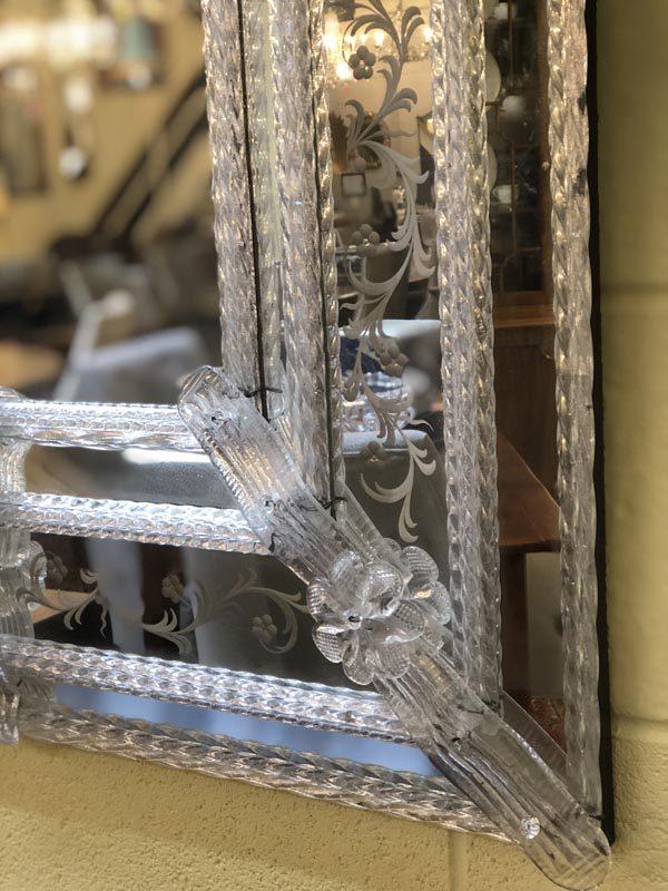 Anna's Mostly Mahogany Consignment - Venetian Mirror