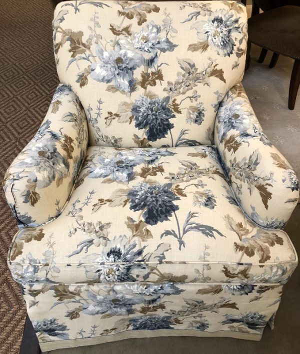 Anna's Mostly Mahogany Consignment - Swivel Arm Chair