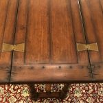 Anna's Mostly Mahogany Consignment - Walnut Hunt Table