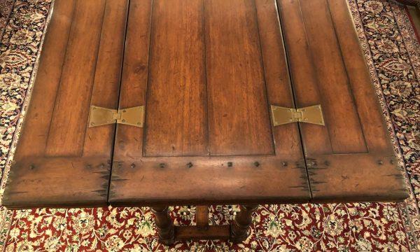 Anna's Mostly Mahogany Consignment - Walnut Hunt Table