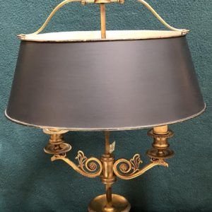 Anna's Mostly Mahogany Consignment - Bouillette Lamp