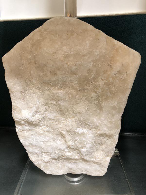 Anna's Mostly Mahogany Consignment - Crystal Stone Lamp