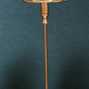 Anna's Mostly Mahogany Consignment - Brass Candlestick Lamps
