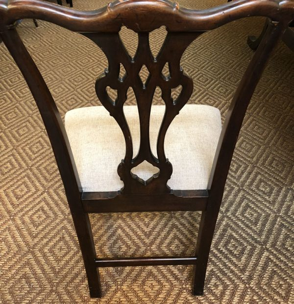 Anna's Mostly Mahogany Consignment - 10 Chippendale Chairs