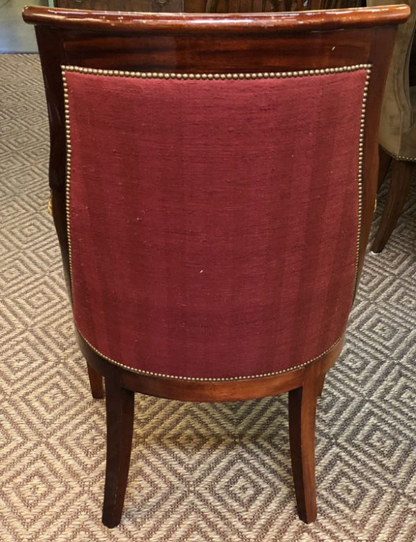 Anna's Mostly Mahogany Consignment - Empire Arm Chair
