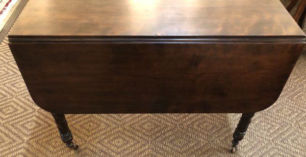 Anna's Mostly Mahogany Consignment - Mahogany Drop Leaf Table