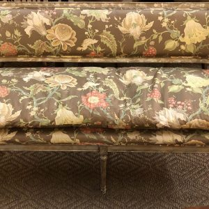 Anna's Mostly Mahogany Consignment - Neirman Weeks Settee