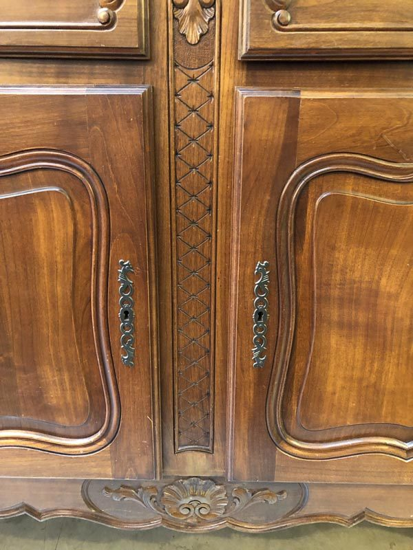 Anna's Mostly Mahogany Consignment - French Buffet