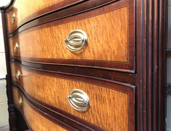Anna's Mostly Mahogany Consignment - Regency Chest of Drawers