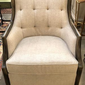 Anna's Mostly Mahogany Consignment - Pair of Tufted Chairs