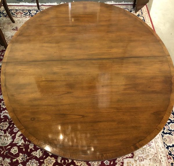 Anna's Mostly Mahogany Consignment - Baker Dining Table