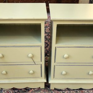 Anna's Mostly Mahogany Consignment - Pair of Nightstands
