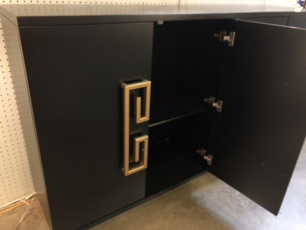 Anna's Mostly Mahogany Consignment - Asian Style Black Cabinet