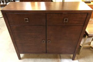Anna's Mostly Mahogany Consignment - Comtempory Style Cabinet