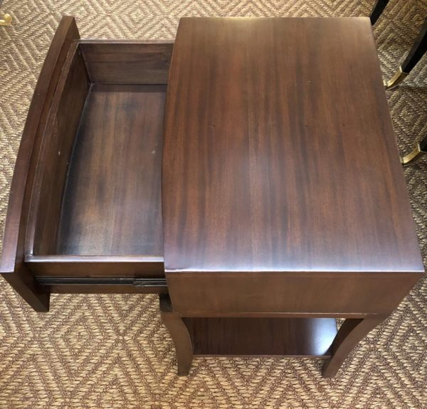 Anna's Mostly Mahogany Consignment - Pr Mahogany Nightstands
