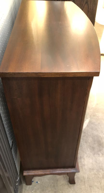 Anna's Mostly Mahogany Consignment - Bow Front Chest of Drawers