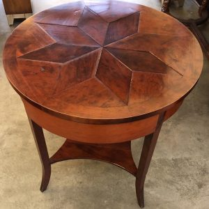 Anna's Mostly Mahogany Consignment - Star Design Round Table