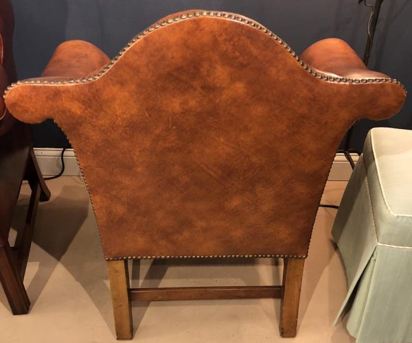 Anna's Mostly Mahogany Consignment - Baker Leather Chair