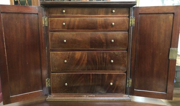 Anna's Mostly Mahogany Consignment - Antique Cabinet