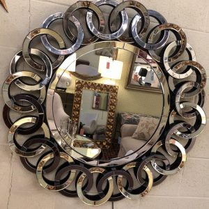 Anna's Mostly Mahogany Consignment - Rings Mirror