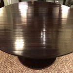 Anna's Mostly Mahogany Consignment - 58' Round Table Barbara Barry