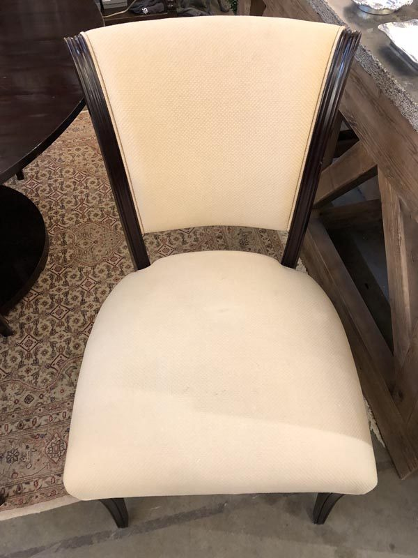 Anna's Mostly Mahogany Consignment - Set of Six Dining Chairs by Barbara Barry