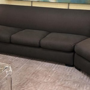 Anna's Mostly Mahogany Consignment - Modern Sectional