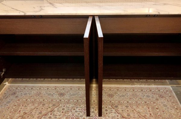 Anna's Mostly Mahogany Consignment - Marble Top Credenza