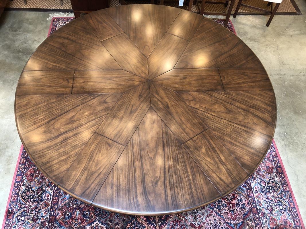 Phenomenal Hexagon To Round Modern Dining Table Antique And Art Pabps2019 Chair Design Images Pabps2019Com