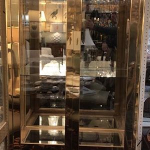 Anna's Mostly Mahogany Consignment - Pr Mastercraft Display Cabinets