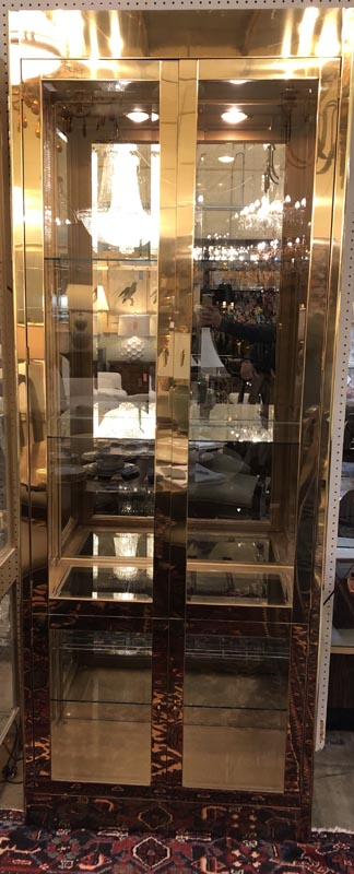 Anna's Mostly Mahogany Consignment - Pr Mastercraft Display Cabinets