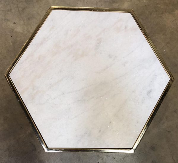 Anna's Mostly Mahogany Consignment - Hexagon Accent Table