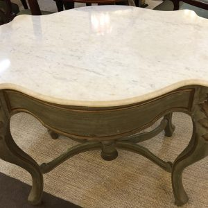 Anna's Mostly Mahogany Consignment - Marble Top Table