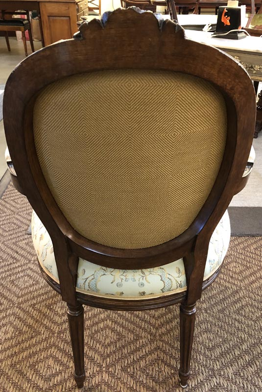 Anna's Mostly Mahogany Consignment - 10 Louis XVI Dining Chairs