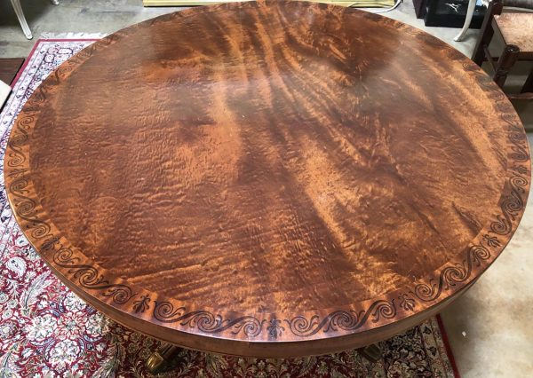 Anna's Mostly Mahogany Consignment - Regency Round Table