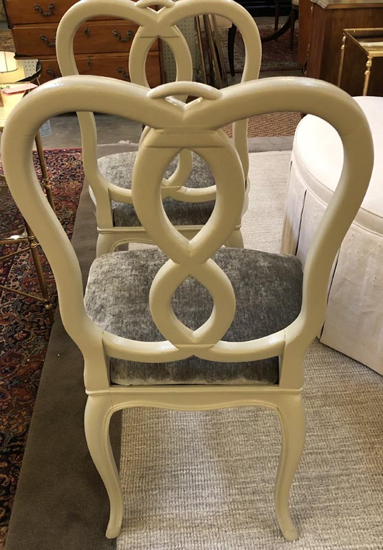 Anna's Mostly Mahogany Consignment - Set of 4 French Chairs