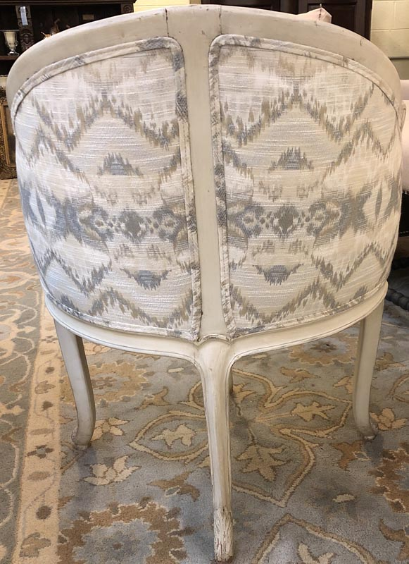 Anna's Mostly Mahogany Consignment - Creme Corner Chair