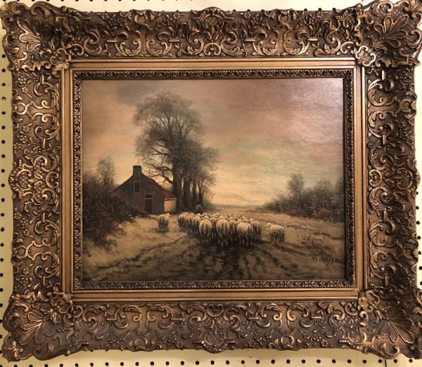 Anna's Mostly Mahogany Consignment - Shepard Painting