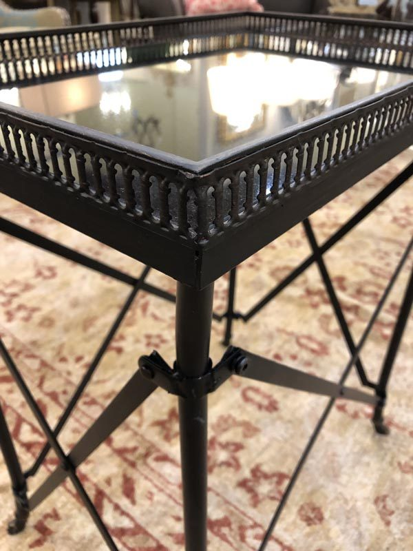 Anna's Mostly Mahogany Consignment - Black Directorie Table